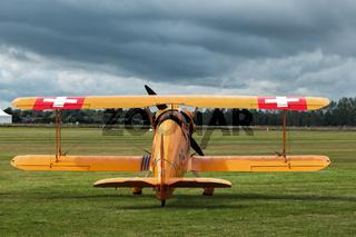 Bucker 131 Jungmann Vintage Biplane U95 at Goodwood
