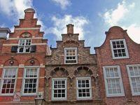 Historic houses in Dordrecht, Netherlands
