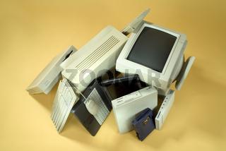 Altes Computer Equipment