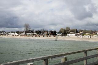 Ostseeheilbad Dahme, Strandpromenade, Deutschland 2014