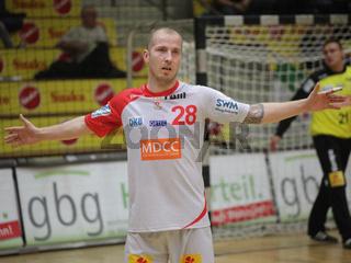 österreichischer Handballer Robert Weber SC Magdeburg DHB HBL DKB Handball-Bundesliga Saison 2014-15