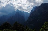 Wetter - und Lichtstimmung am Bavella-Massiv - Korsika