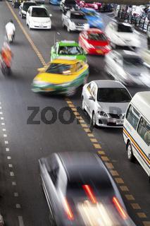 Verkehr in Bankok - Traffic in Bangkok