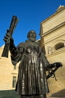 Denkmal für Jean de la Valette, Valletta, Malta