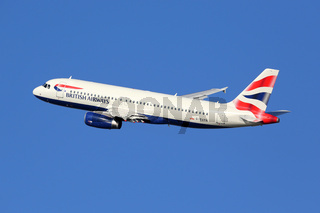 British Airways Flugzeug Airbus A320