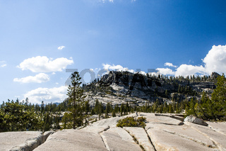 Aussicht an der Tioga Road, Yosemite NP, USA