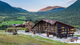 Myrkdalen hotel, Hordaland, Norway, Scandinavia