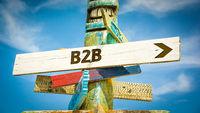 Street Sign to B2B