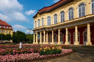 Schlossgarten und Schlossgartensalon Merseburg, Sachsen-Anhalt, Deutschland
