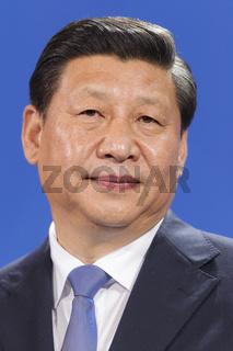 Xi Jinping meets Merkel in berlin.
