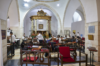 Jerusalem Israel. The four sephardic synagogues