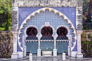 maurischer Brunnen, Sintra, Portugal