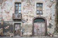 Ancient Italian house