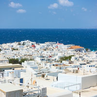 Rooftops of Mykonos town