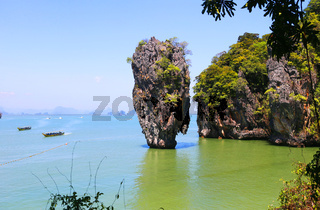 Ko Tapu, James Bond Island, Phang Nga Bay, Thailand, Asien