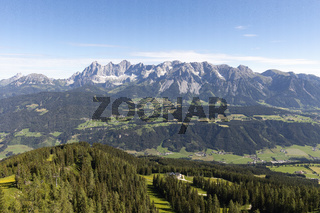 Das Dachsteinmassiv in der Steiermark, Österreich, Europa