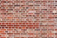 Backstein Ziegelstein Textur an Wand als Hintergrund Muster