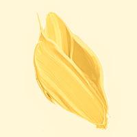 Golden brush stroke or makeup smudge closeup, beauty cosmetics and lipstick texture