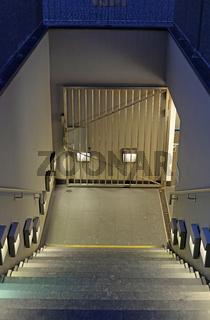 Eingang einer Tiefgarage