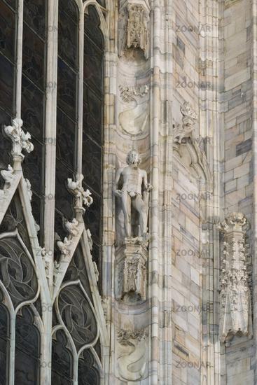 Adam, Skulptur, Dom, Mailand