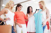 Women choosing dress