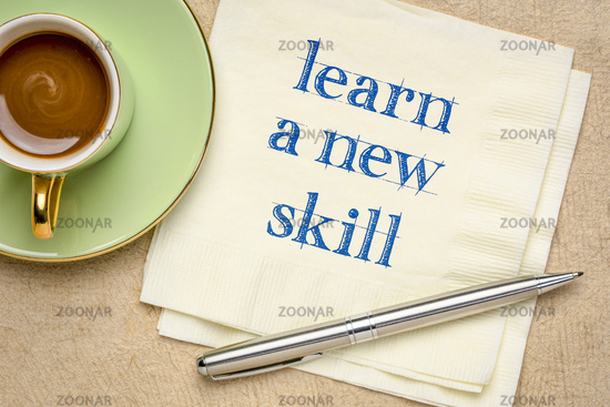 learn a new skill motivational note