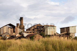 Desolate sugar mill near Koloa, Kauai