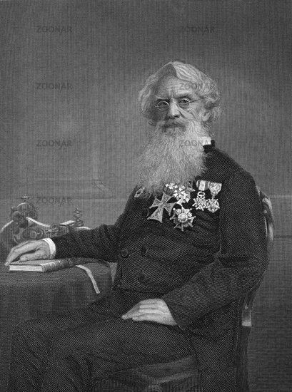 Samuel Finley Breese Morse, 1791 - 1872, an American painter and inventor