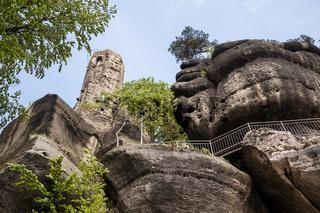 Ruine des Kloster Oybin