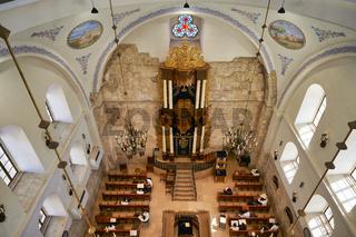Jerusalem Israel. The Hurva Synagogue