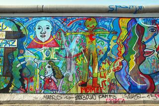 East Side Gallery Berlin Deutschland / Germany