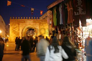 TUNISIA TUNIS CITY PLACE DE LA KASBAH