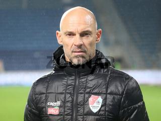 Cheftrainer Alexander Schmidt Türkgücü München DFB 3.Liga Saison 2020-21