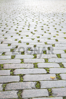 cobblestone road for backgrounds
