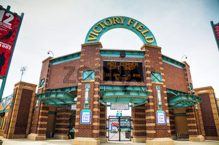 Victory Field Stadium in Indianapolis