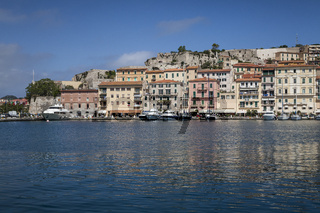 Portoferraio, der alter Hafen, Porto Ferraio, Elba