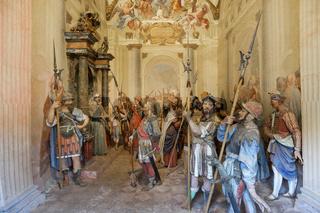 Jesus zweites Verhör vor Pilatus, Varallo
