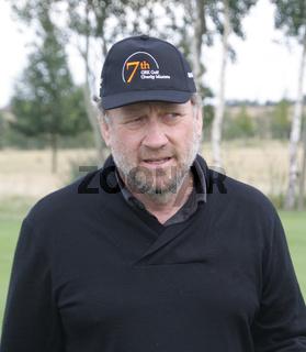 Harold Faltenmeyer beim Golf Charity Masters in Leipzig 2014