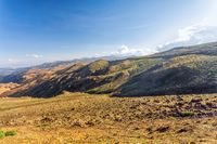 landscape of Bale Mountain, Ethiopia wilderness