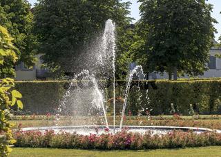 Wasserspiele im Schlosspark, Ludwigsburg