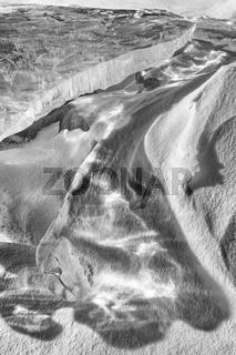 Eisscholle, Akkajaure, Lappland