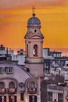Eclectic Style Buildings, Montevideo, Uruguay