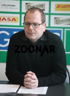 Geschäftsführer Marc-Henrik Schmedt  SC Magdeburg DKB Handball-Bundesliga Saison 2013/14