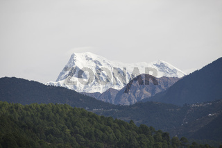 Himalaya Gebirge, Mount Trisul (7120m), Nordindien