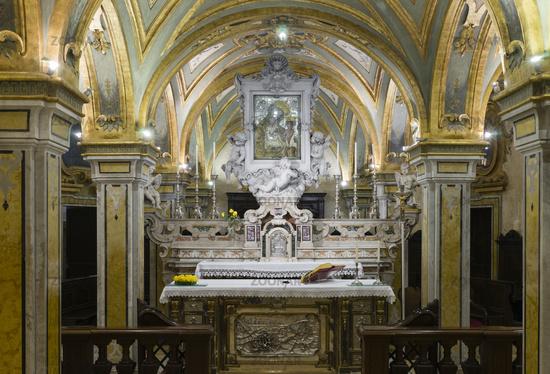 Schrein mit Gebeinen, Heiliger Sabinus Bari