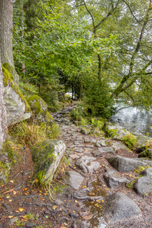 around Lac de Gerardmer in France