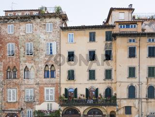 Lucca, Piazza San Michele, Toskana, Italien