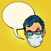 head Emoji epidemic quarantine warning