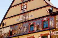 Fassadenbild, Stadt Rottweil