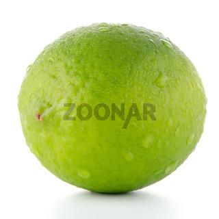 Fresh green lime